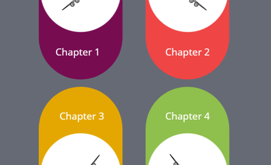 Chapter Section Menu